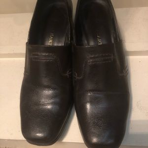 Brown Franco Sarto Business Casual Shoes